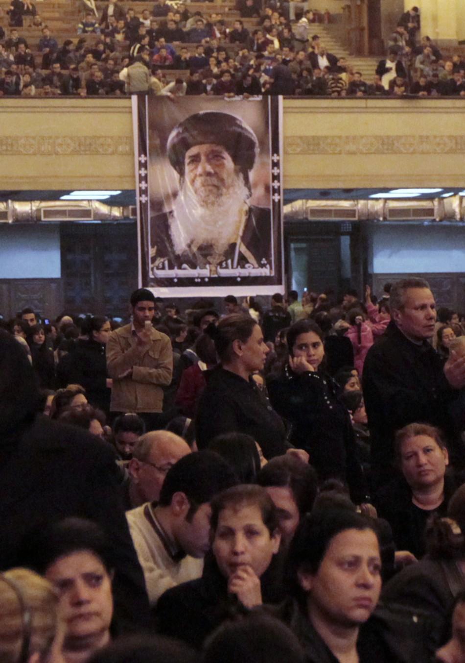 Pope Shenouda III Dies