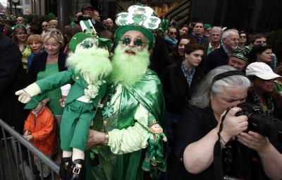 St. Patricks Day celebrations