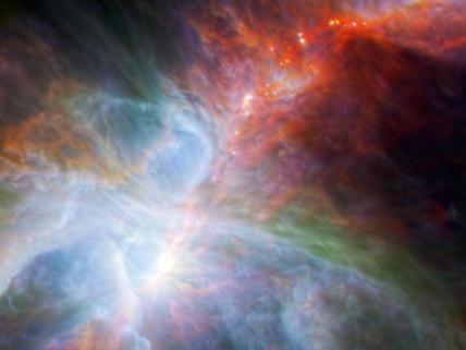Orion's Rainbow of Infrared Light
