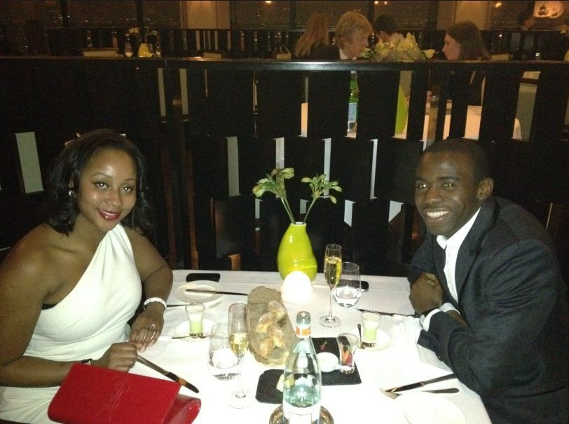 Fabrice Muamba and fiance Shauna Magunda