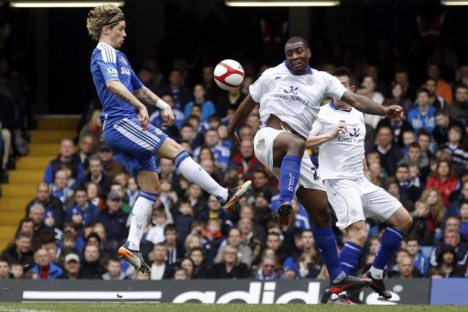 Soccer - FA Cup - Quarter Finals - Chelsea v Leicester City - Stamford Bridge