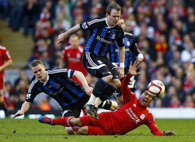 Soccer - FA Cup - Quarter Finals - Liverpool v Stoke City - Anfield