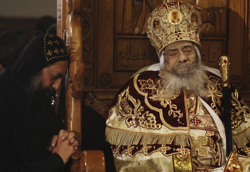 Coptic Christians Prepare For Pope Shenouda Iii Burial