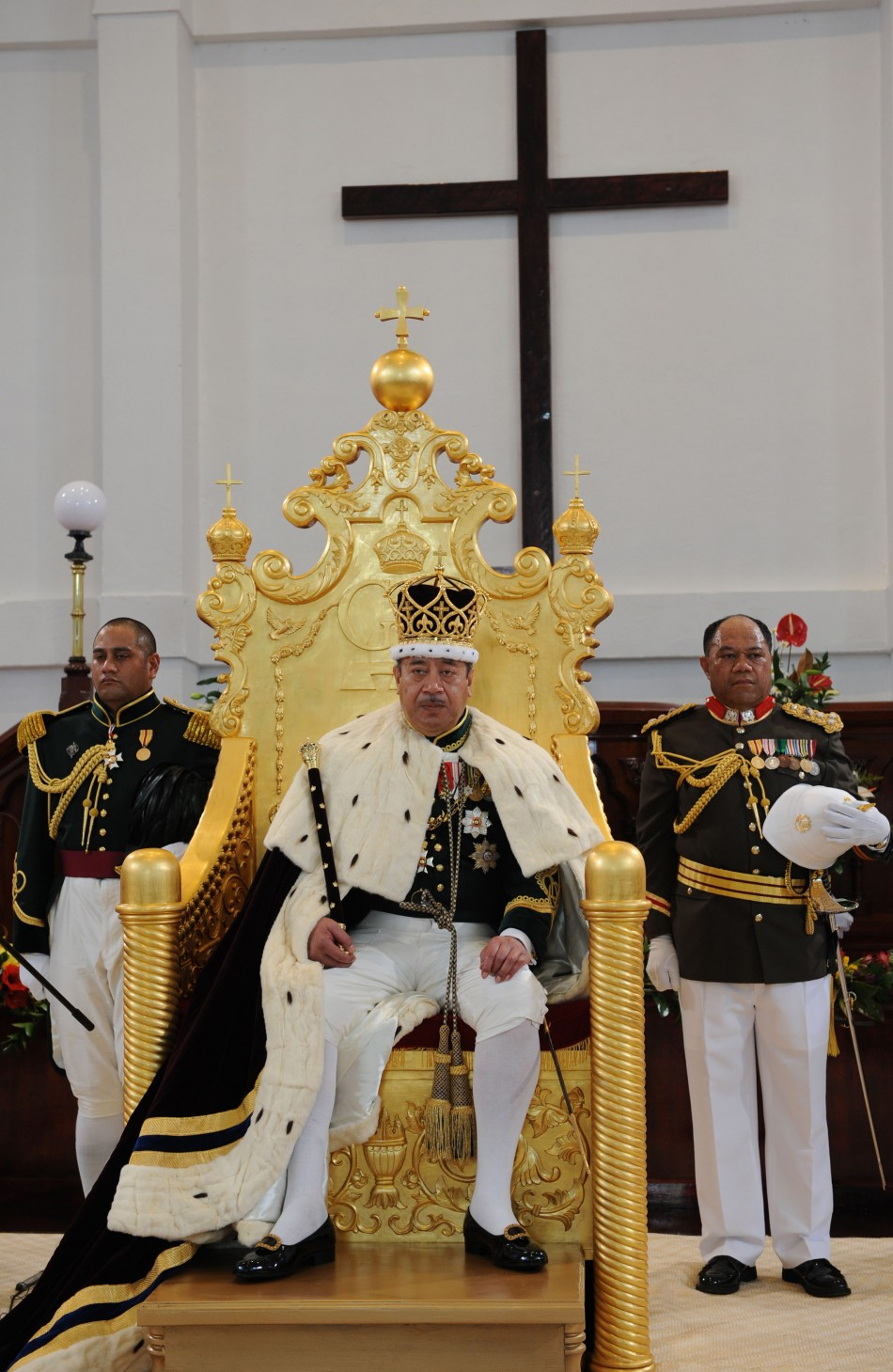Tonga King George Tupou V