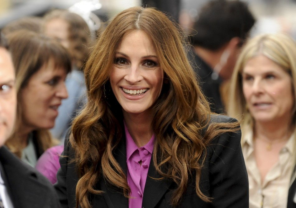 "Actress Julia Roberts arrives at the Hollywood world premiere of ""Mirror Mirror"" in Los Angeles"