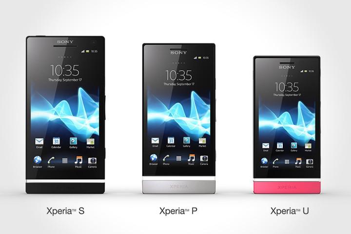 Sony Xperia NXT range