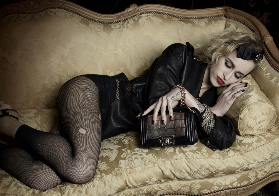 Complete Pictures Alice Dellals Boy Chanel Campaign Revealed