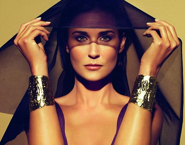 Demi Moore's Shockingly Unrecognizable Photoshopped Helena Rubinstein Campaign Images