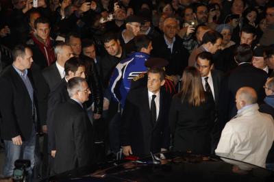 France039s President Nicolas Sarkozy
