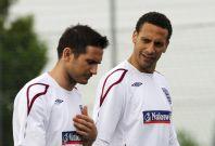Rio Ferdinand  and Frank Lampard