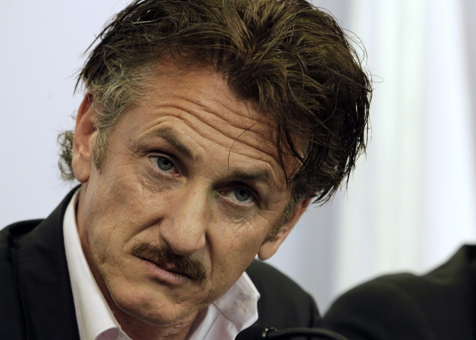 "Actor Sean Penn labelled Prince William's visit as ""colonist, ludicrous and archaic"" (Reuters)"