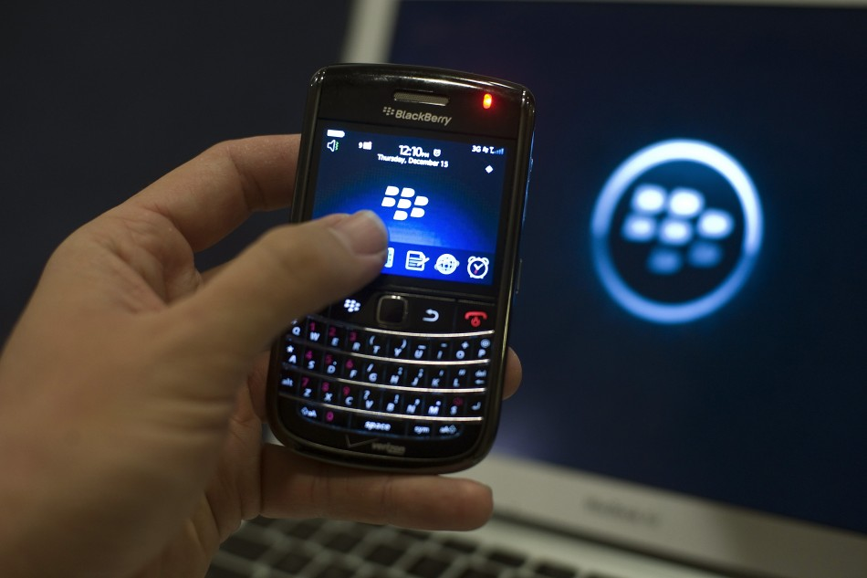 BlackBerrys are on the way out.