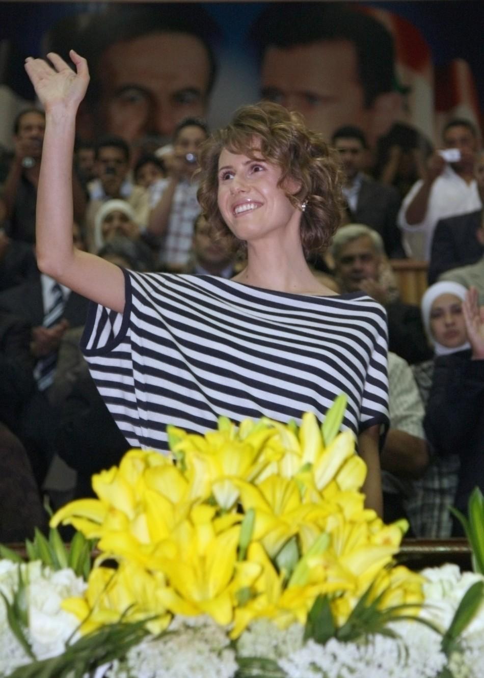 Asma al-Assad 'Rose in the Desert'