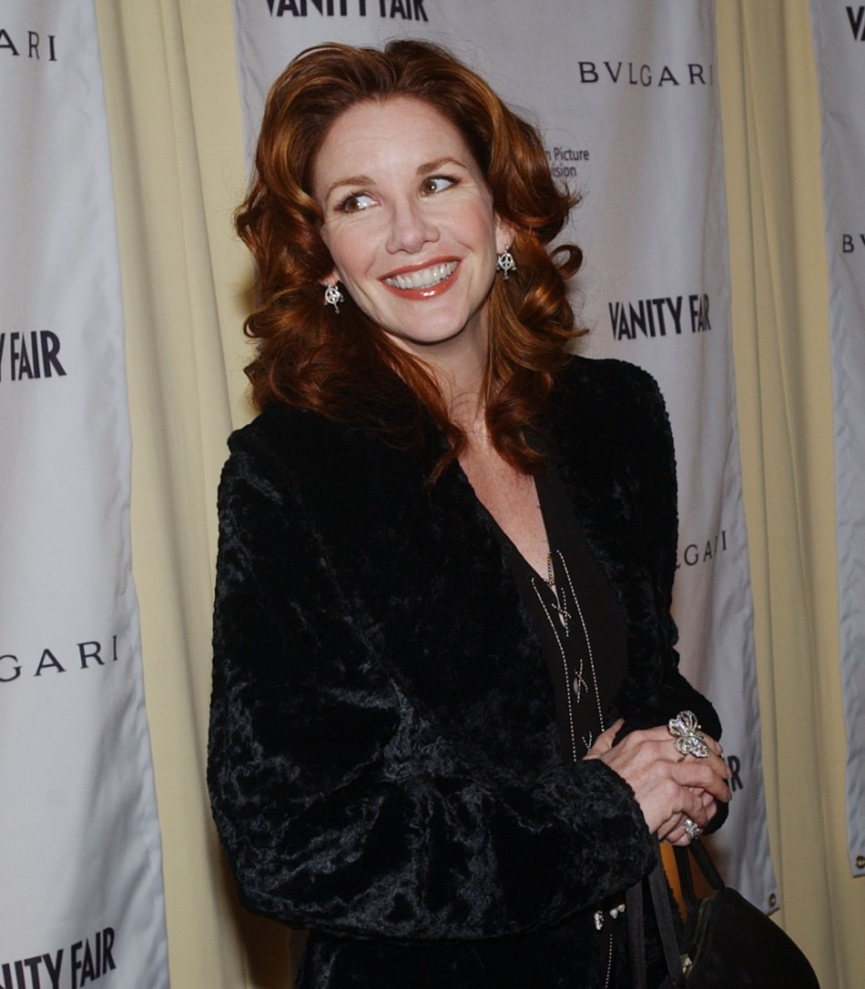 ACTRESS MELISSA GILBERT ARRIVES AT BVLGARI STORE OPENING IN BEVERLY HILLS.