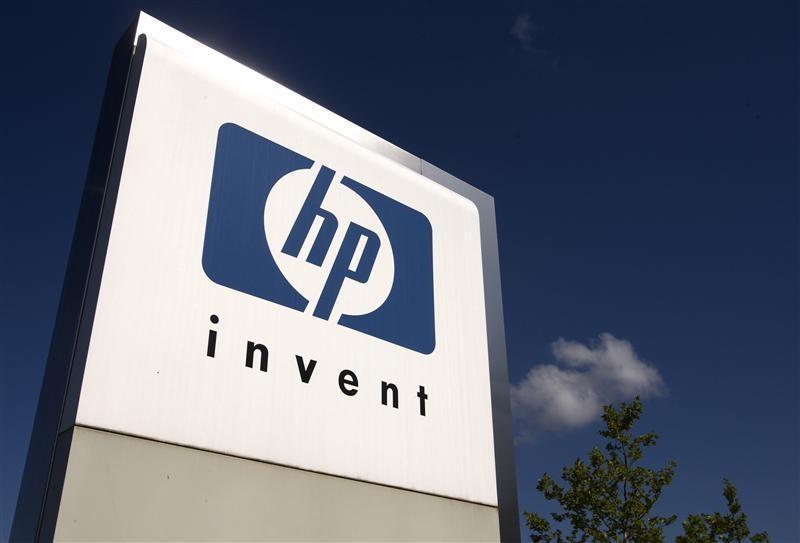 A HP Invent logo