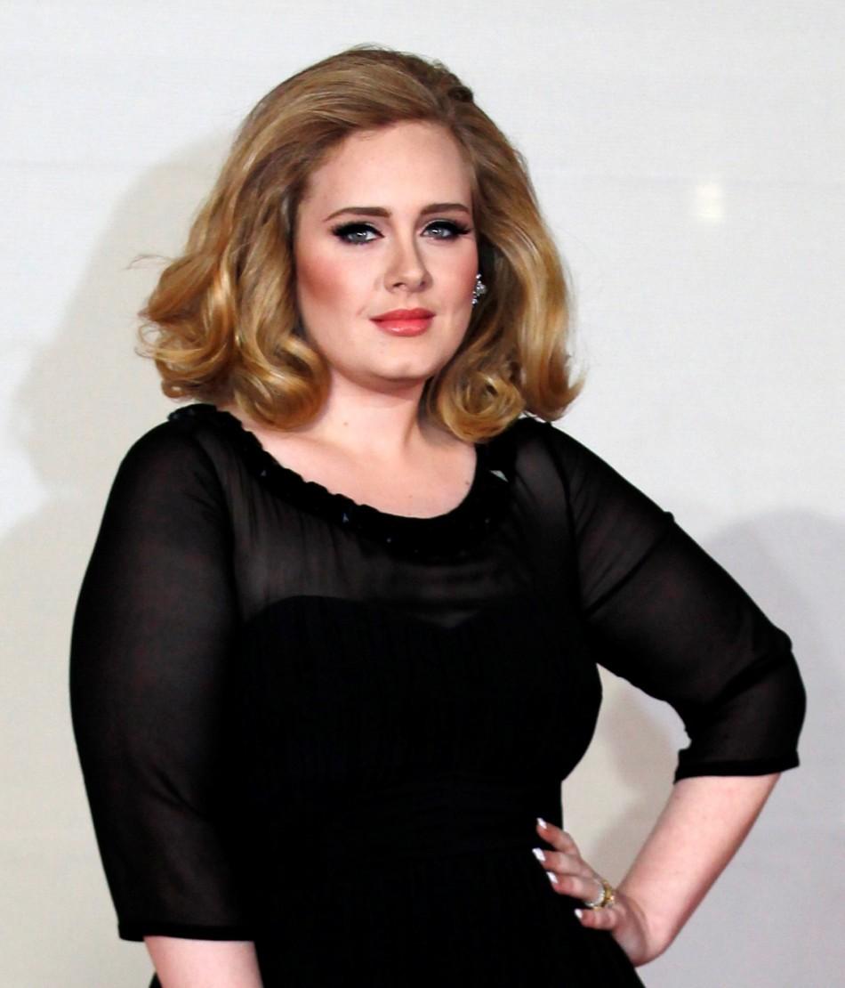 British singer Adele. Image Credit Reuters