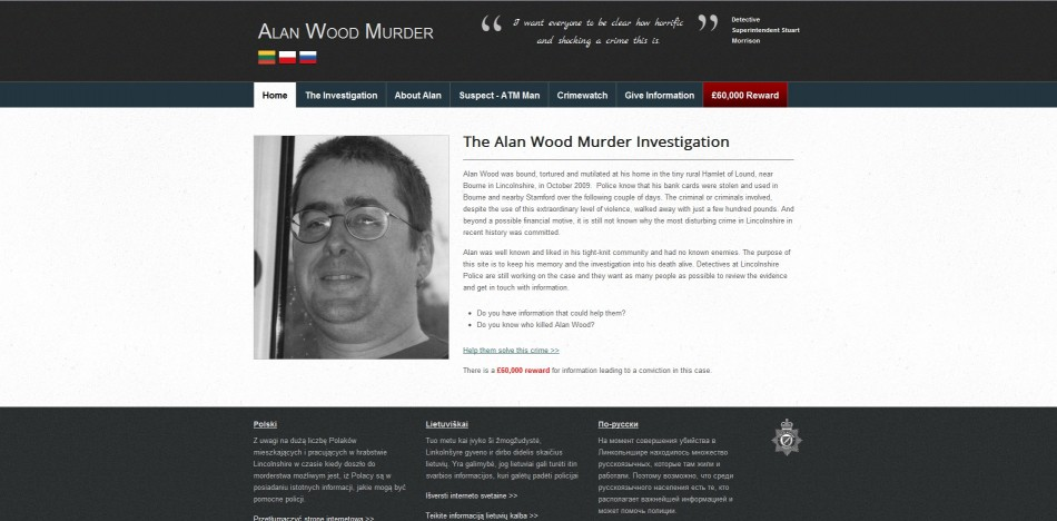 Alan Wood Murder