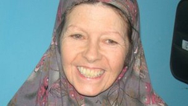 Judith Tebbutt was captured from a Kenyan holiday resort on September 11 (BBC)