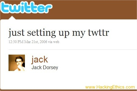 The First Tweet