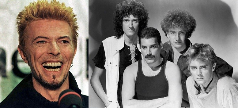 David Bowie and Queen