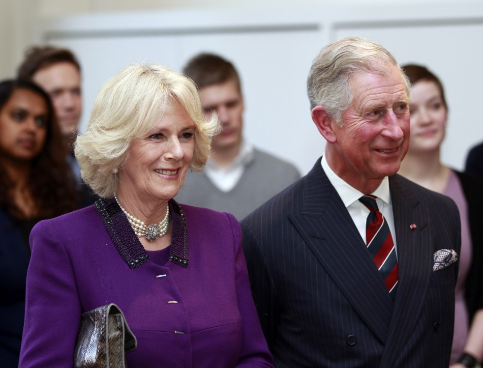 Prince Charles Kick-starts First Mens Catwalk Event in London