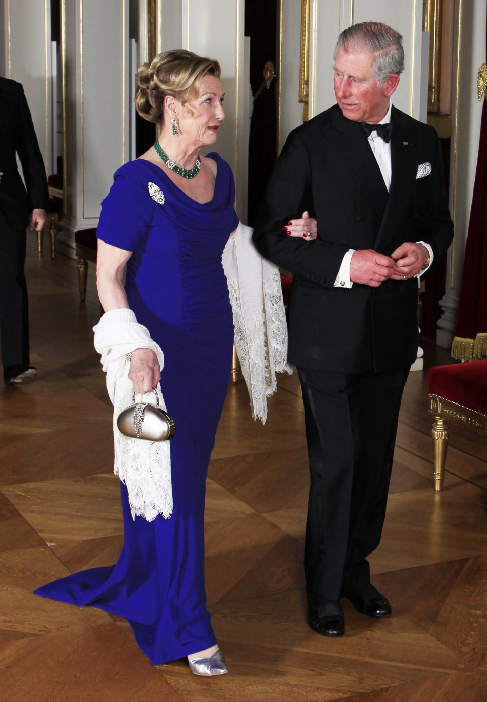 Prince Charles and Camilla Attends State Dinner During Diamond Jubilee Tour