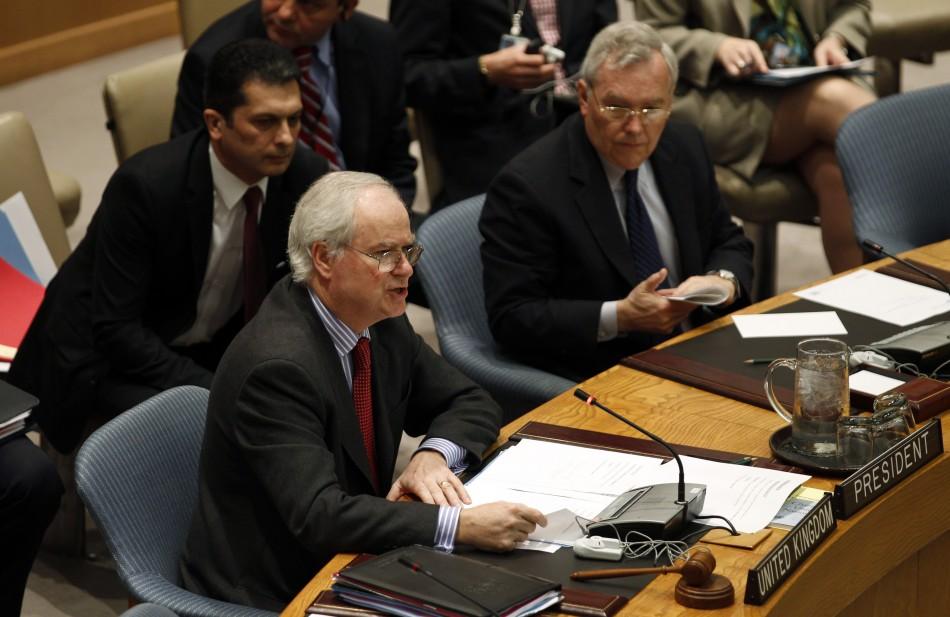UN Resolution on Syria