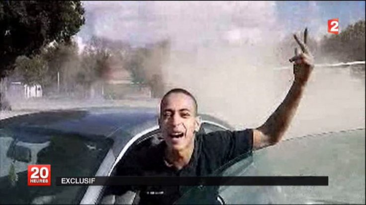 Undated, non-datelined frame grab broadcast by French national television station France 2 claim it shows Mohamed Merah