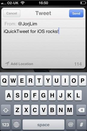 iQuick Tweet