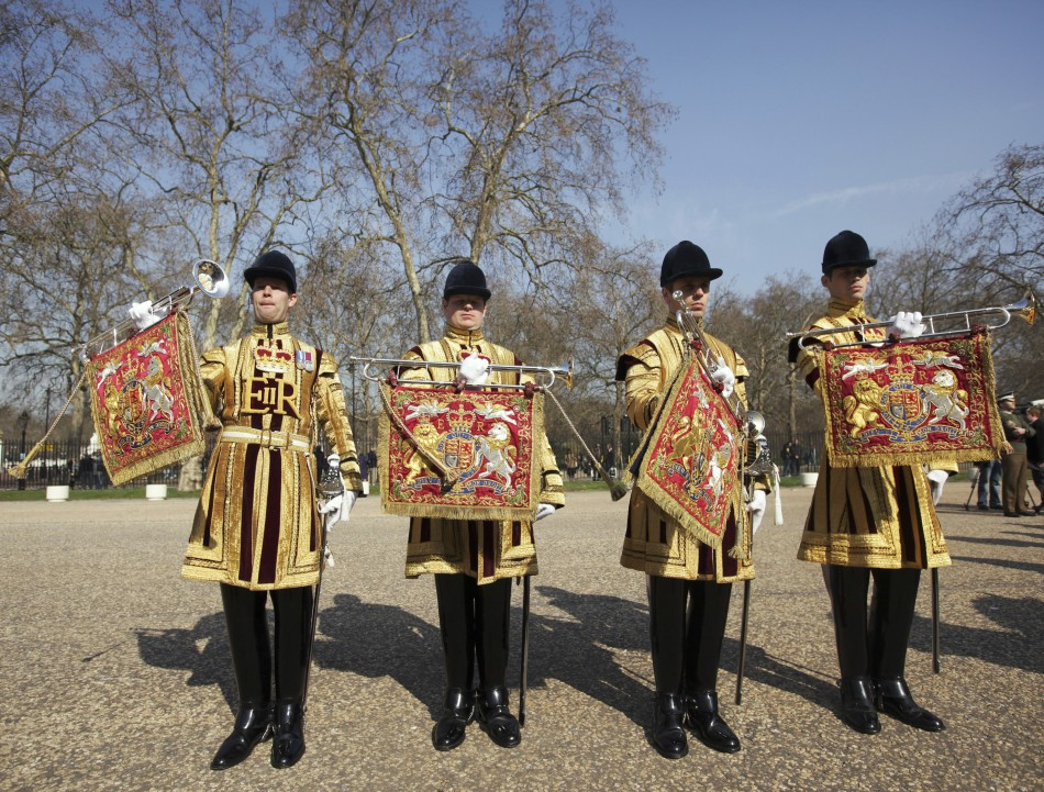 Military Uniforms for Queen Elizabeth's Diamond Jubilee Celebrations Revealed