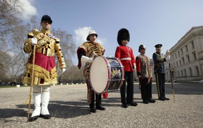 Military Uniforms for Queen Elizabeths Diamond Jubilee Celebrations Revealed