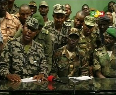Leaders of the Mali putsch