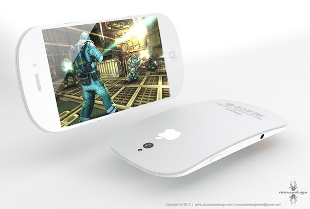 iPhone 5 - Design by Federico Ciccarese