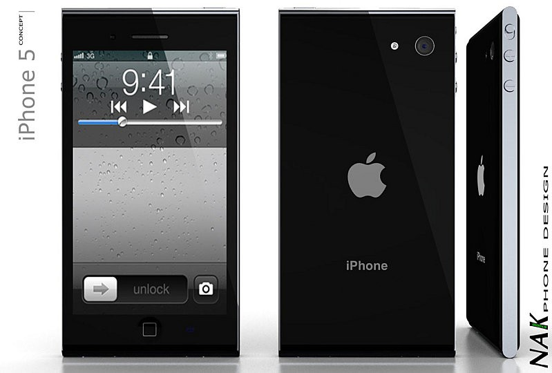 iPhone 5 Concept - Design by NAK Studio