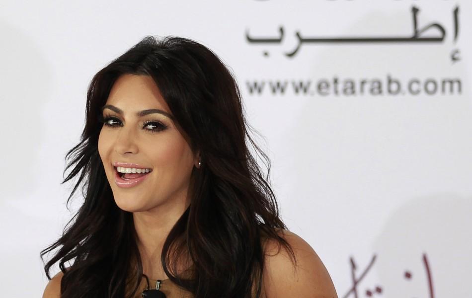 1. Kim Kardashian