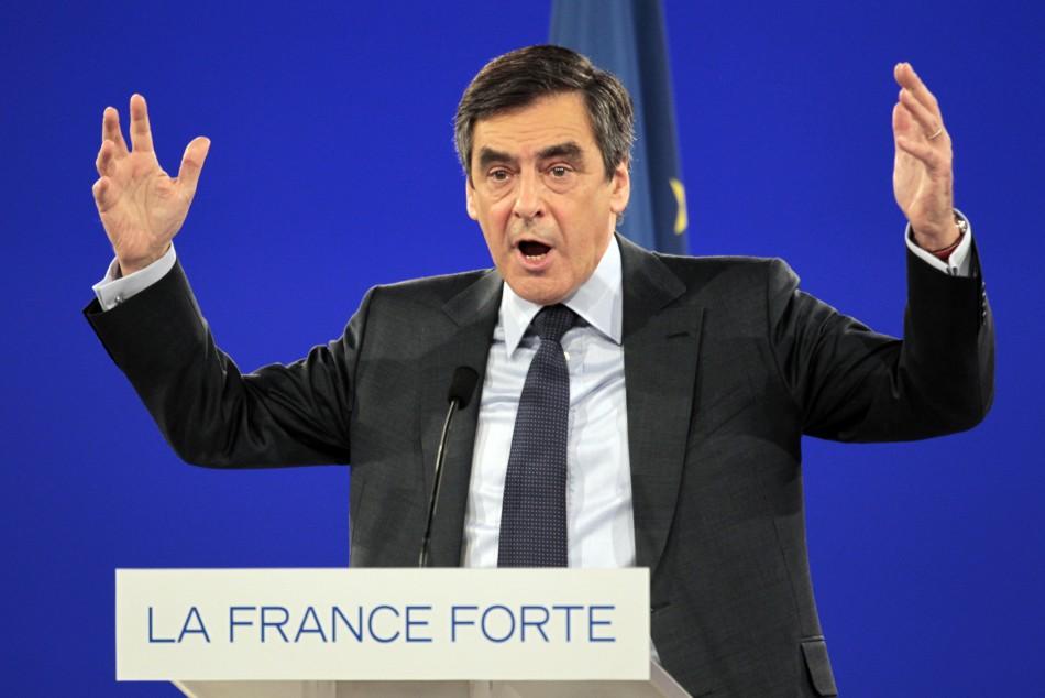 French Prime Minister, Francois Fillon.
