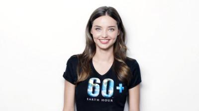 Victoria Secret039s Angel Miranda Kerr Conducts Earth Hour Free Yoga Class for Public