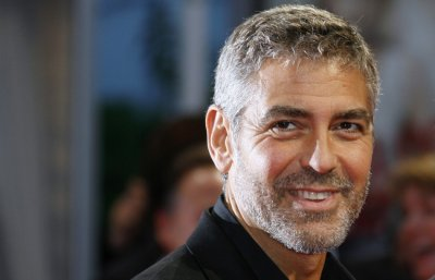 The handsome Clooney