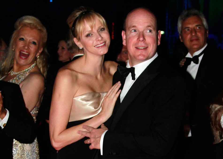 Princess Charlene Dazzles in Swinging London Themed 2012 Rose Ball