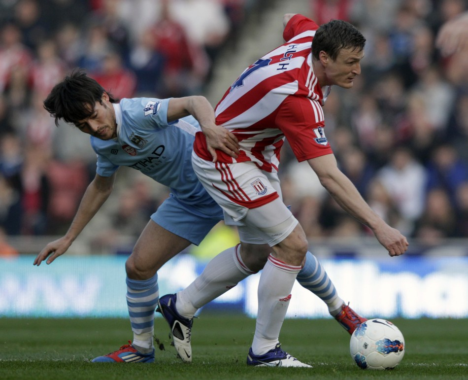 Soccer - Stoke City v Manchester City - Barclays Premier League - Stoke-on-Trent