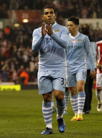 Soccer - Stoke City v Manchester City - Barclays Premier League - Stoke-on-Trent