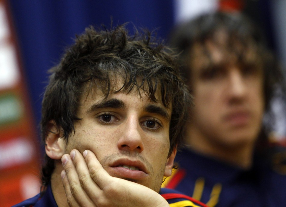 Athletic Bilbao's Javi Martinez