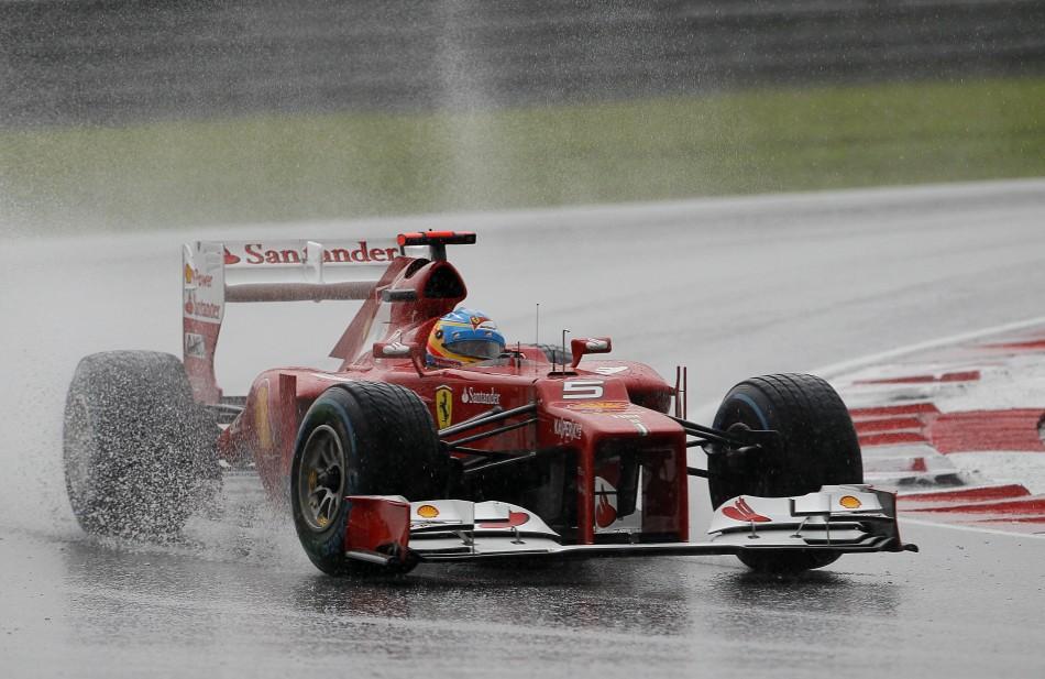F1 Malaysia Grand Prix 2012: Alonso Wins Rain-Hit Race for ...