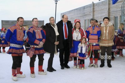 Prince Albert and Charlene Begins Lapland Tour to Promote Environmental Sustainability