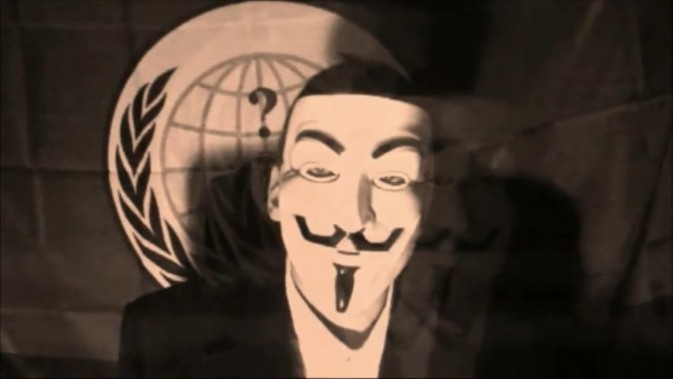 TheAnonMessage issued clip urging YouTube to unblock collective's account within 72 hours or 'we will unleash hell'