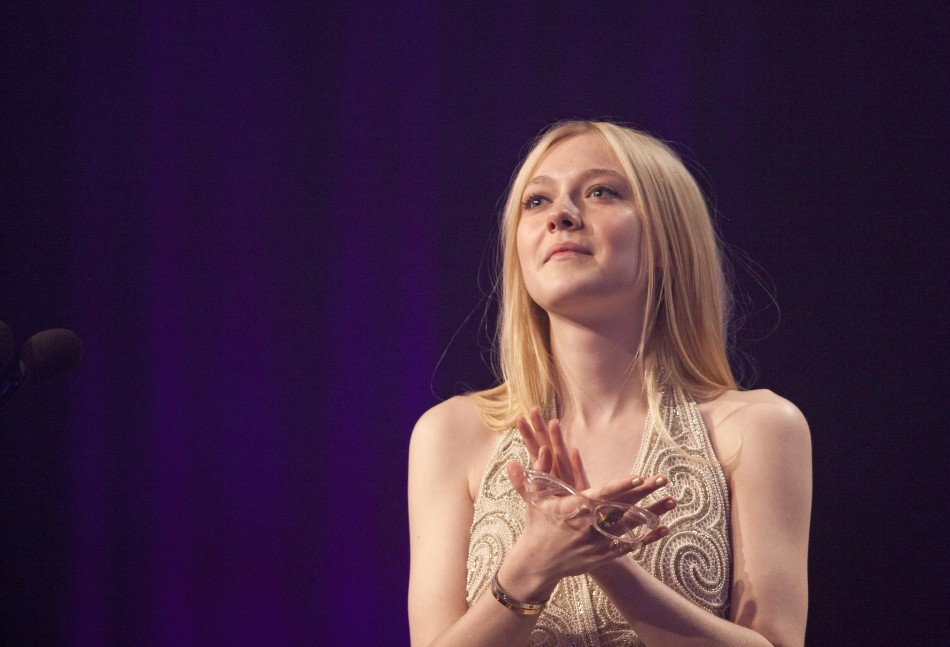 Actress Fanning at the 23rd annual GLAAD Media Awards in New York