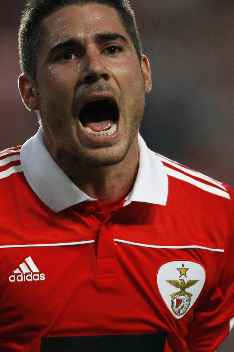 Benfica's Javi Garcia
