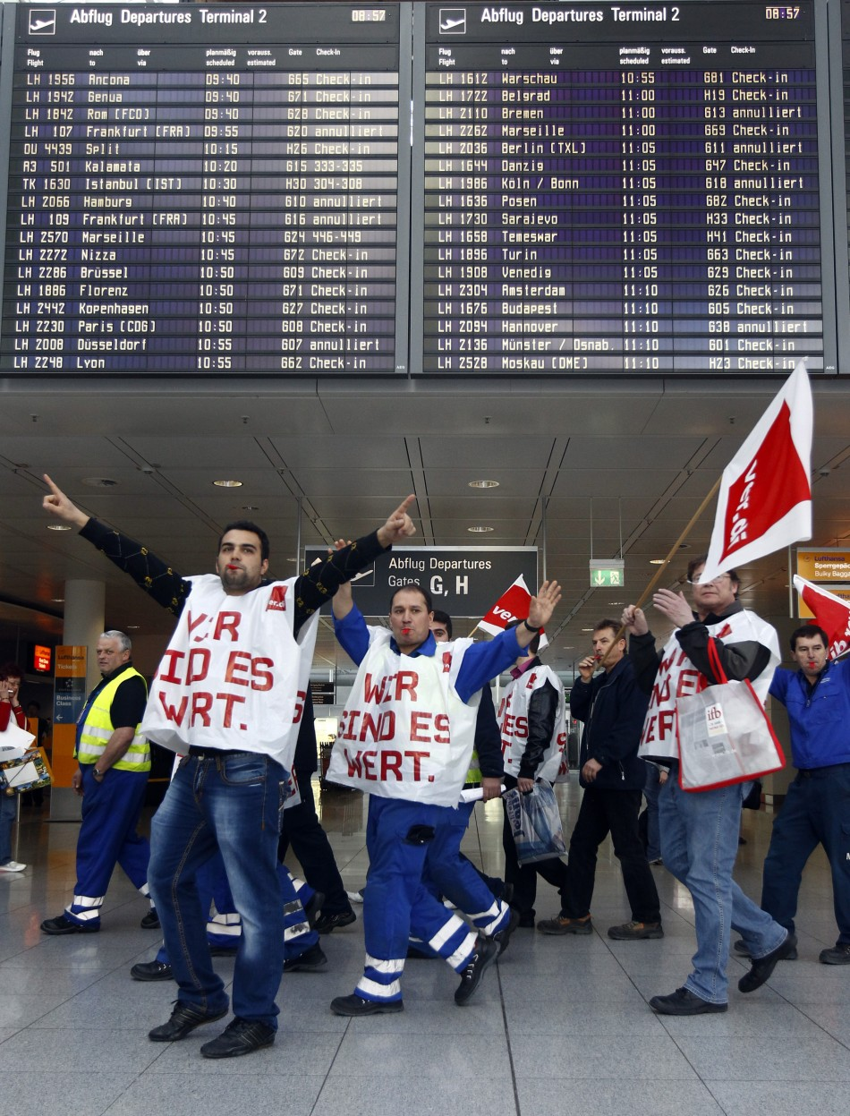 German Airport Strike