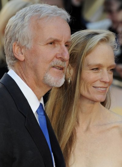 James Cameron Arrives for Titanic 3-D Launch after Deep Ocean Exploration