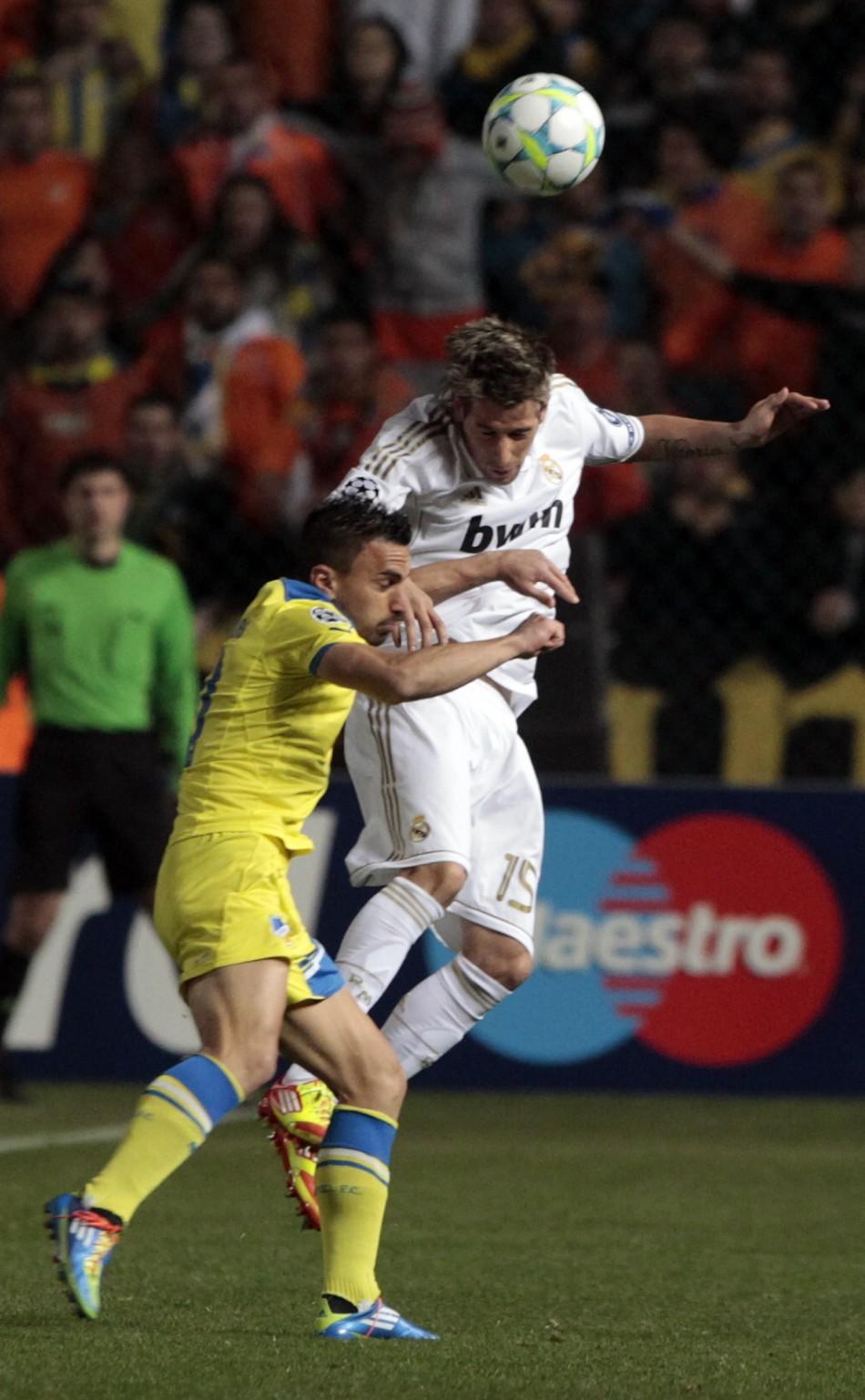 Soccer - APOEL v Real Madrid - Champions League - First Leg - Quarter-Finals- Neo GSP Stadium